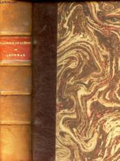 Maurice De Guerin - Journal, Lettres Et Poemes. - Couverture - Format classique