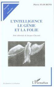 L'intelligence, le génie de la folie - Intérieur - Format classique