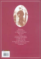 Théodore Poussin T.12 ; les jalousies - 4ème de couverture - Format classique
