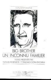 Big Brother Un Inconnu Familier - Couverture - Format classique