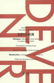 Devenir T.14 N.2 ; 2002 - Couverture - Format classique