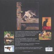 Mémoires des chats - 4ème de couverture - Format classique