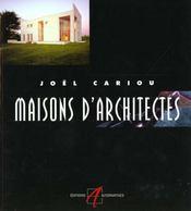 Maisons D'Architectes - Intérieur - Format classique