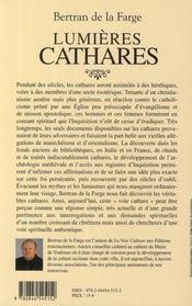 Renaissance cathare ; voie mystique du christianisme - 4ème de couverture - Format classique