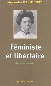 Feministe et libertaire - Couverture - Format classique