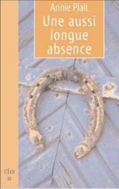 Si Longue Absence (Une) - Couverture - Format classique