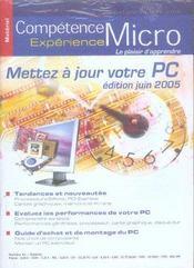 Competence Micro ; Mettez A Jour Votre Pc (Edition 2005) (édition 2005) - Intérieur - Format classique