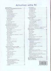 Competence Micro ; Mettez A Jour Votre Pc (Edition 2005) (édition 2005) - 4ème de couverture - Format classique
