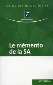 Le memento de la SA - Couverture - Format classique