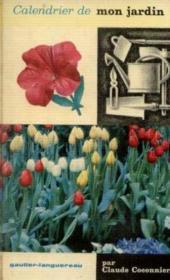 Calendrier de mon jardin - Couverture - Format classique