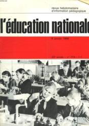 L'Education Nationale N°774 - Couverture - Format classique