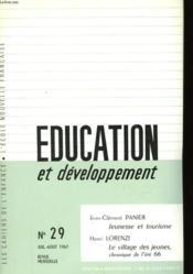 Education Et Developpement - N°29 - Couverture - Format classique