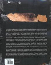 La grotte de la vache ( ariege ) 2 volumes - 4ème de couverture - Format classique