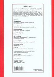 Modernites T.12 ; Culture Et Pensee Jungienne - 4ème de couverture - Format classique