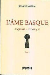 Lame Basque 2 T- Esquisse Historique - Couverture - Format classique