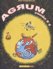 Agrum comix t.4 - Couverture - Format classique