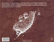 Le dahu - tome 1 - 4ème de couverture - Format classique