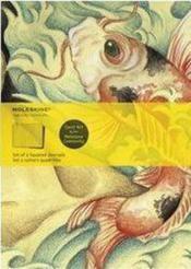 Cahier quadrille artistique ; poisson - Couverture - Format classique