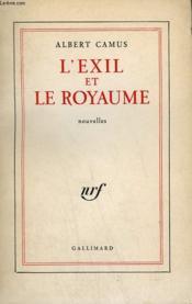 L'Exil Et Le Royaume. - Couverture - Format classique