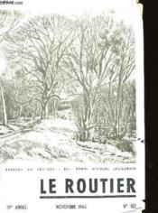Le Routier N°182 - Couverture - Format classique