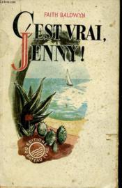 C'Est Vrai, Jenny! - Couverture - Format classique