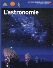 L'astronomie - Couverture - Format classique