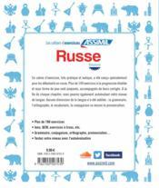Russe ; débutants - 4ème de couverture - Format classique