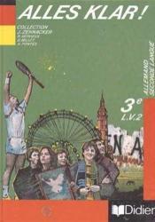 Alles Klar 3e ; Manuel Langue Vivante 2 - Couverture - Format classique