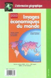 L'Information Geographique T.65 ; Une Geometrie Des Terroirs - 4ème de couverture - Format classique