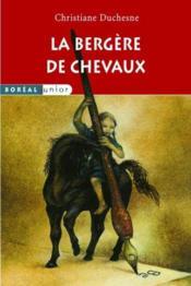 La Bergere De Chevaux - Couverture - Format classique