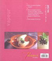 Cuisine A La Vapeur (Legumes, Poissons, Aioli) - 4ème de couverture - Format classique