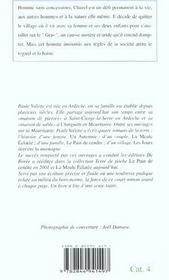 Meule Eclatee (La) - 4ème de couverture - Format classique