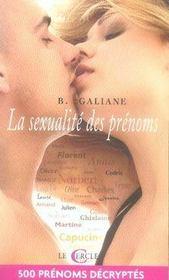 La Sexualite Des Prenoms - Intérieur - Format classique