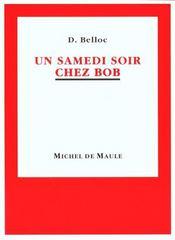 Samedi Soir Chez Bob (Un) - Intérieur - Format classique