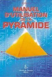 Manuel d'utilisation de la pyramide - Couverture - Format classique