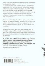 Ianto l'enrage - 4ème de couverture - Format classique