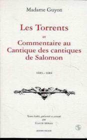 Les Torrents-Commentaires Au Cantique Des Cantiques - Couverture - Format classique