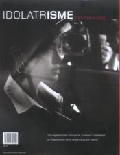 Idolatrisme - 4ème de couverture - Format classique