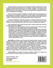 L'investigation informatisée des fraudes ; recherche informatisée et prévention - 4ème de couverture - Format classique