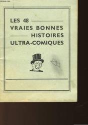 Les 48 Vraies Bonne Histoires Ultra-Comiques - Couverture - Format classique