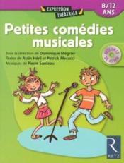Petites comédies musicales ; 8/12 ans - Couverture - Format classique