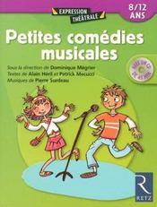 Petites comédies musicales ; 8/12 ans - Intérieur - Format classique