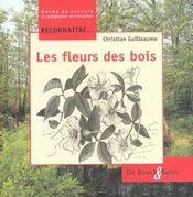 Reconnaître... les fleurs des bois - Intérieur - Format classique