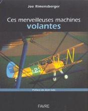 Ces merveil machines volantes - Intérieur - Format classique