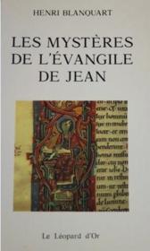 Les mystères de l'Evangile de Jean - Couverture - Format classique