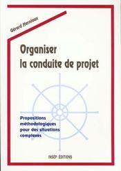 Organiser Conduite Projet - Intérieur - Format classique