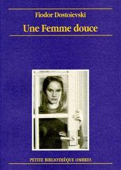 Une femme douce - Couverture - Format classique