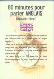 80 Minutes Pour Parler Anglais - Couverture - Format classique