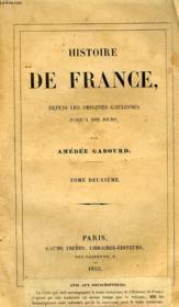 Histoire De France Depuis Les Origines Gauloises Jusqu'A Nos Jours, Tome Ii, Gaule Romaine - Couverture - Format classique