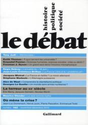 Revue Le Debat N.162 ; Novembre-Décembre 2010 - Couverture - Format classique